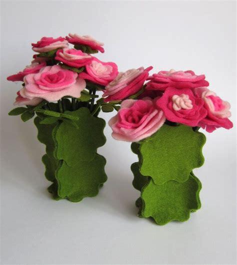 tutto vasi vasi di fiori in feltro tutto con una sola fustella della