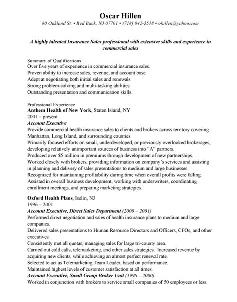 independent insurance resume sle sle outside sales resume 28 images best sle resume 28 images outside sales resume sle