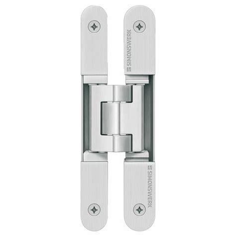 paumelles invisibles tectus 3d pour portes lourdes