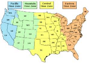 united states time zone map with time search results