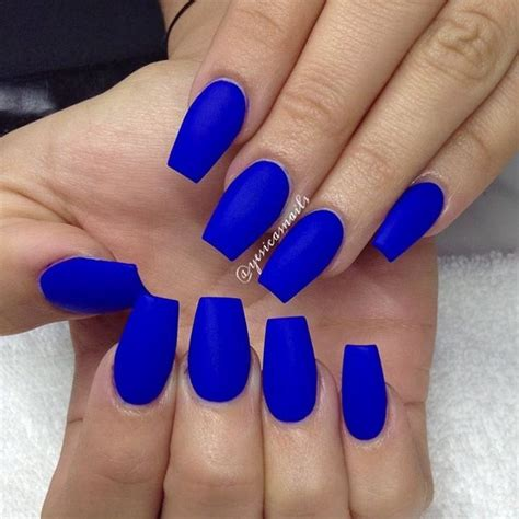 Nail Color Blue there s something about this blue quot bright color