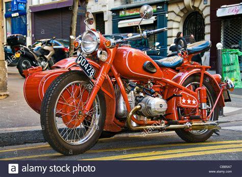 Motorrad Beiwagen Bilder by Bmw Seitenwagen Motorrad Oldtimer Stockfoto Bild