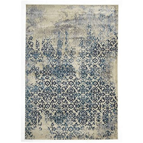 rugs of the rug culture heritage blue modern rug 230 x 160cm modern