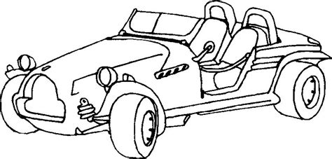 buggy car drawing