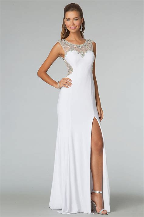 white formal dresses kzdress