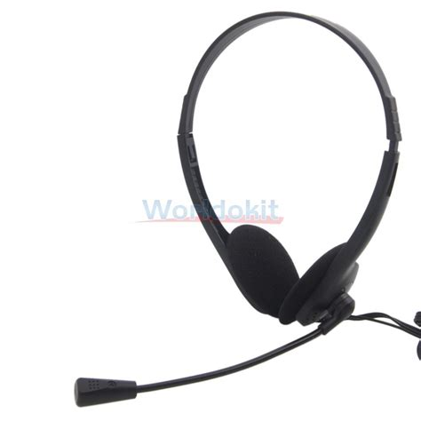 3 5mm Stereo Headset With Mic 3 5mm wired stereo headset with mic microphone headphone