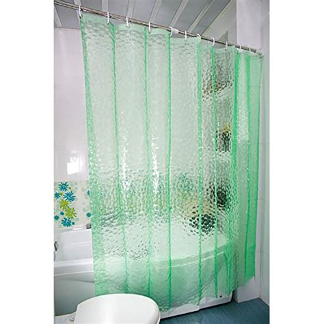 waterproof fabric shower curtain 3d water cube design shower curtain bathroom decor