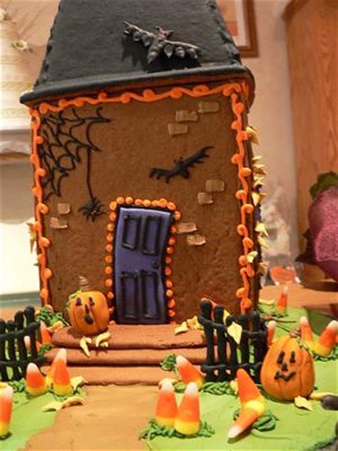 gingerbread haunted house template justine s haunted gingerbread houses