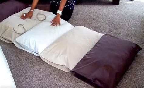 floor pillow bed roll up mattress bed beautysleep siesta simmons mattress