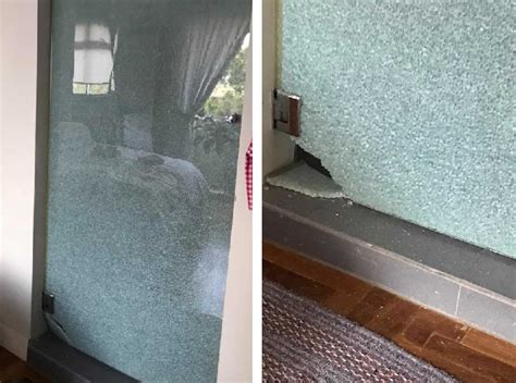 Glass Shower Door Suddenly Explodes Singaporean Homeowner S Glass Bathroom Door Suddenly Cracks And Explodes The Independent