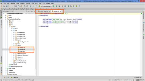 fonts in xml android developers lesson keeping text in a dedicated file why and how to