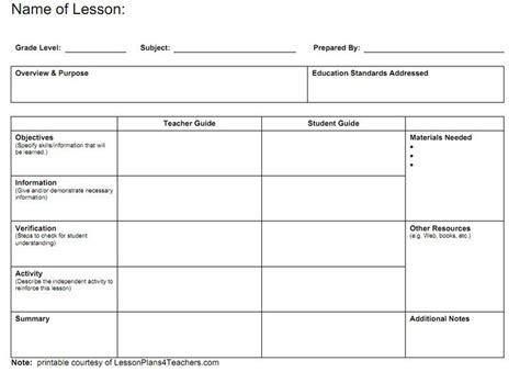 block lesson plan template best photos of blank block lesson plan template blank