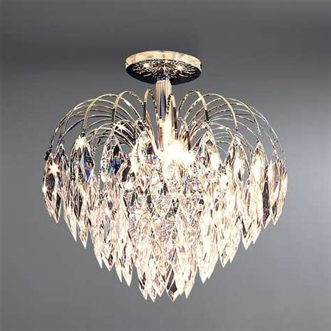 acrylic drop light fitting dunelm