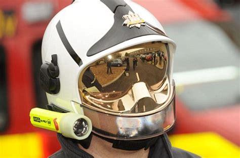 firemen go over to the dark side: new helmet makes them