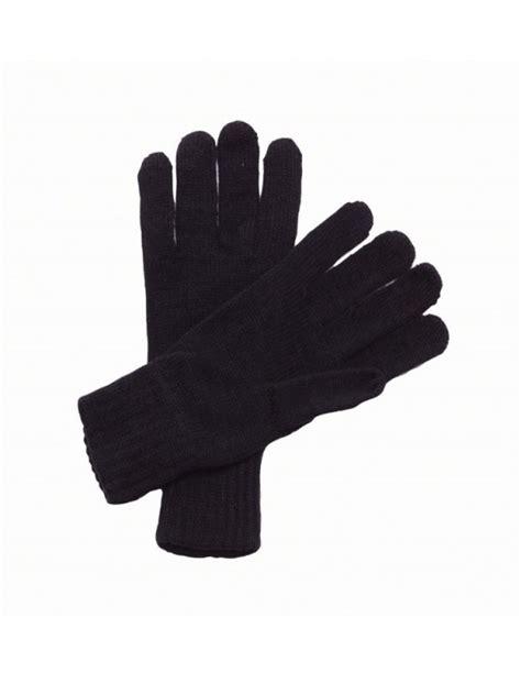 Plain Gloves plain gloves knitted regatta