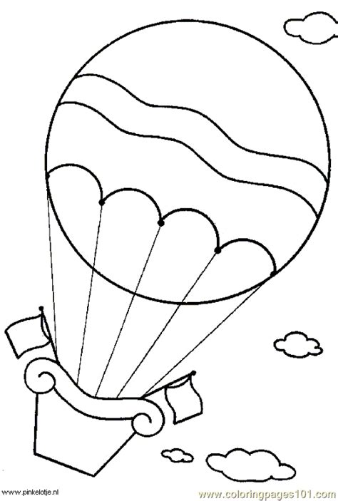 wind coloring pages for preschool free printable coloring image hot air balloon 5 1