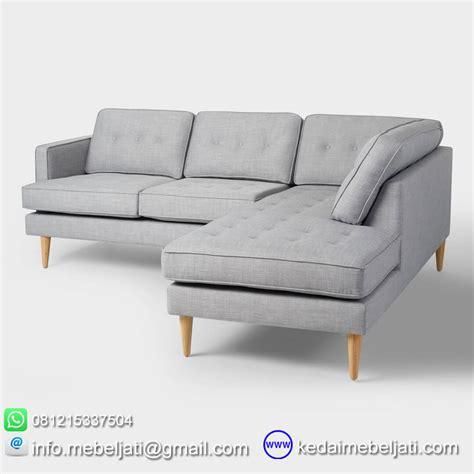 Sofa Kayu Sudut beli sofa sudut vintage minimalis foxy bahan kayu jati