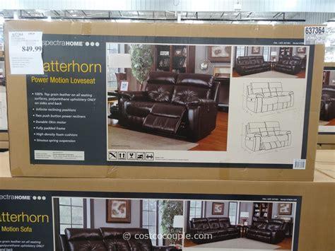 spectra home sofa costco spectra matterhorn leather power sofa costco home