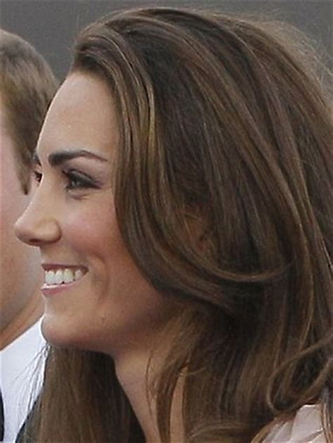 nose hair color kate middleton s profile the perfect nose beauty