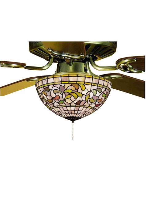tiffany ceiling fan light kit meyda tiffany 72650 turning leaf tiffany light kit md 72650