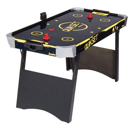 franklin air hockey table franklin sports 54 inch quikset air hockey table walmart ca