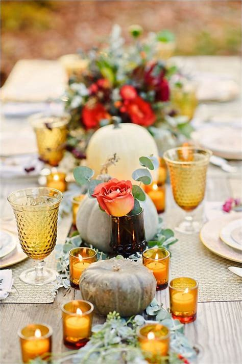 fall wedding table settings autumn wedding ideas wedding inspiration