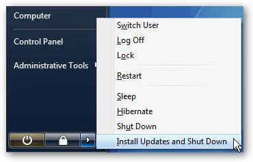 stop windows update from hijacking the sleep/shutdown button
