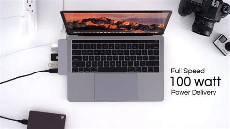 Hyperdrive Pro Usb C Hub For Macbook Pro 2016 2017 macbook pro用usb cハブ hyperdrive が最強の予感