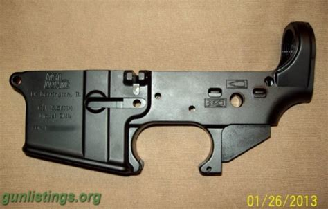 ds arms (dsa) stripped forged ar15 ar 15 lower receiver in