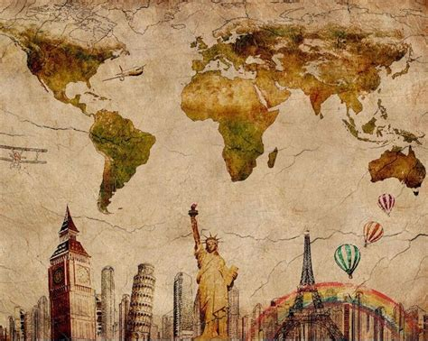 old world map wall paper decor pinterest vintage world map retro paris london liberty nyc wall