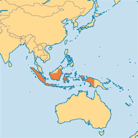 where is indonesia on the world map jul 10 indonesia kalimantan operation world