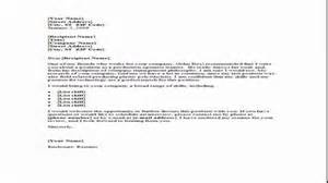 what to put in a cover letter exle of formal letter for format of covering 1713