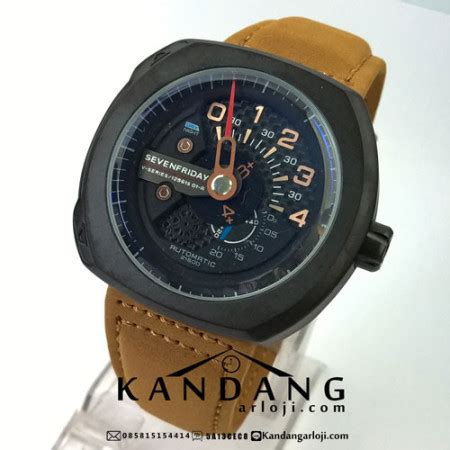Harga Jam Tangan Merk T5 jual sevenfriday v3 1 brown leather jamtangansby