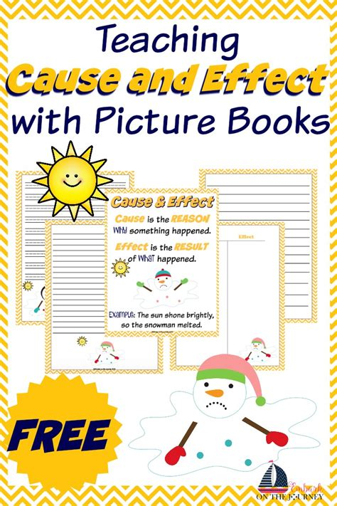 teaching picture books teaching cause and effect with picture books
