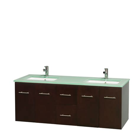 green vanity bathroom wyndham collection wcvw00960desggunsmxx centra 60 inch double bathroom vanity in
