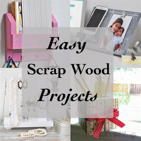 beginner craft projects simple scrap wood projects for beginners anika s diy