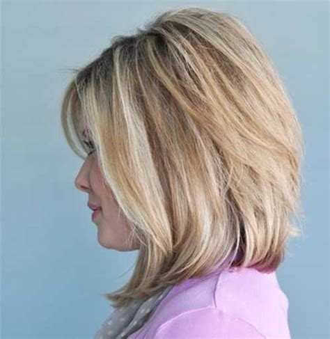 med length bob graduated layers 15 medium bob haircuts bob hairstyles 2017 short