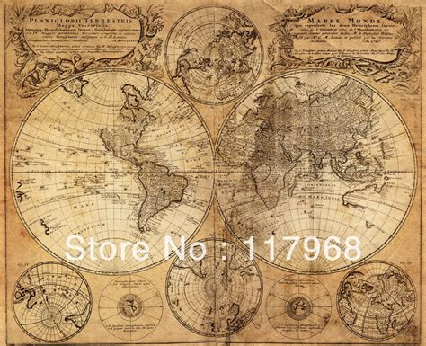 Ancient Explorer Map Vintage World - antique imitated 1746 world map memory world sailing
