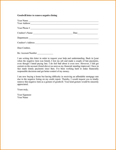Goodwill Letter Template Authorization Letter Pdf Letter To Templates