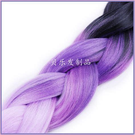 dark purple braiding hair black light purple dark purple ombre jumbo braiding hair