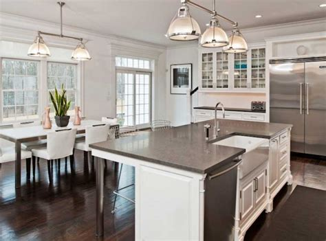 Kitchen Island With Sink Design Ideas Home Interior Kitchen Island With Sink And Seating