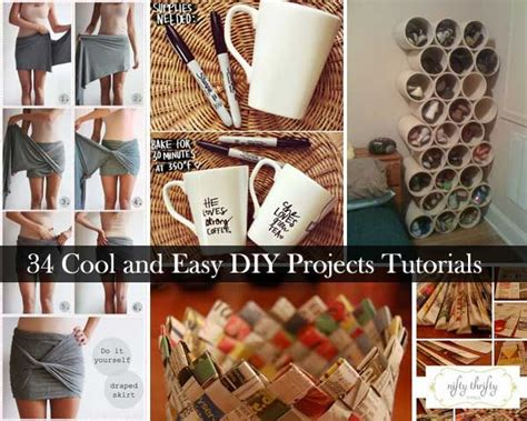 diy projects tutorials 34 insanely cool and easy diy project tutorials kitchen