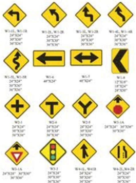 road sign practice test printable pictures to pin on