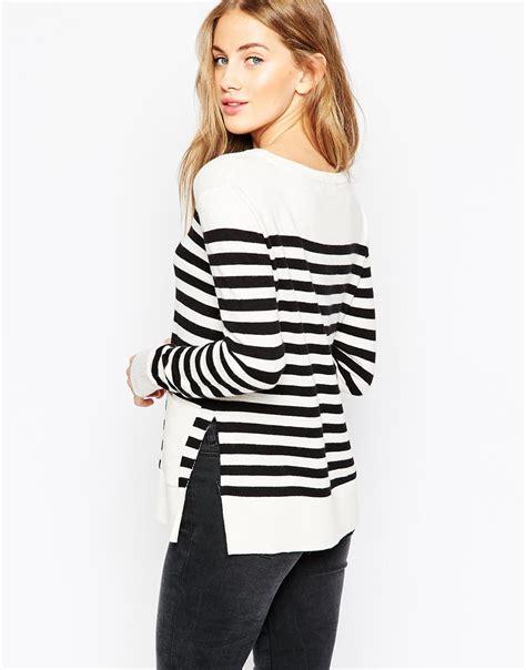 Mono Stripe mono stripe jumper
