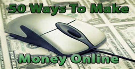 50 Ways To Make Money Online - 50 ways to make money online daniel s personal development blog
