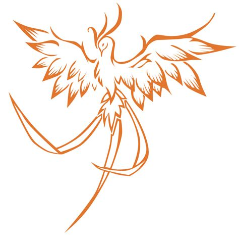 phoenix tatoo by s rce free images at clker com vector