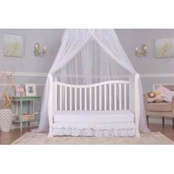On Me Toddler Bed White On Me Violet 7 In 1 Convertible Style Crib