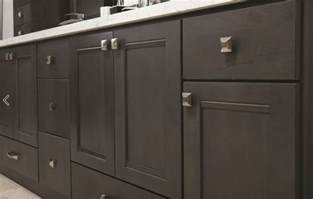 Ready To Assemble Kitchen Cabinets urbandale grey stained kitchen cabinets