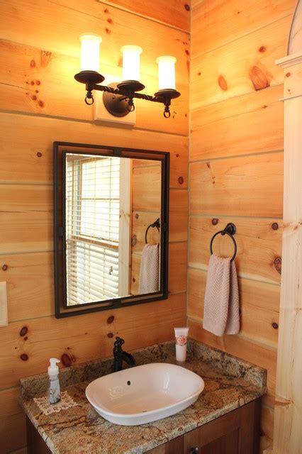 MONTPELIER LOG CABIN   Rustic   Bathroom   Richmond