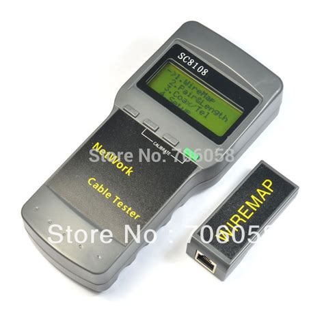Limited Edition Kabel Lan Utp Rj45 10 Meter Termurah cat5 rj45 network cable tester meter length sc8108 network